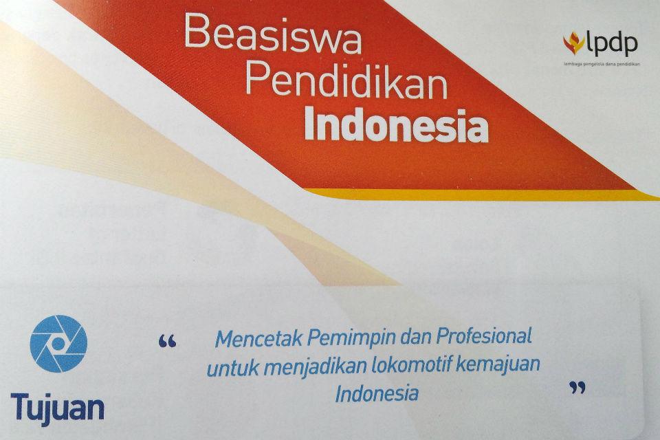 Program Beasiswa oleh LPDP