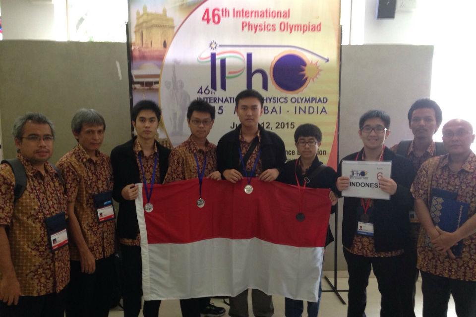 Para peserta Olimpiade Sains Internasional